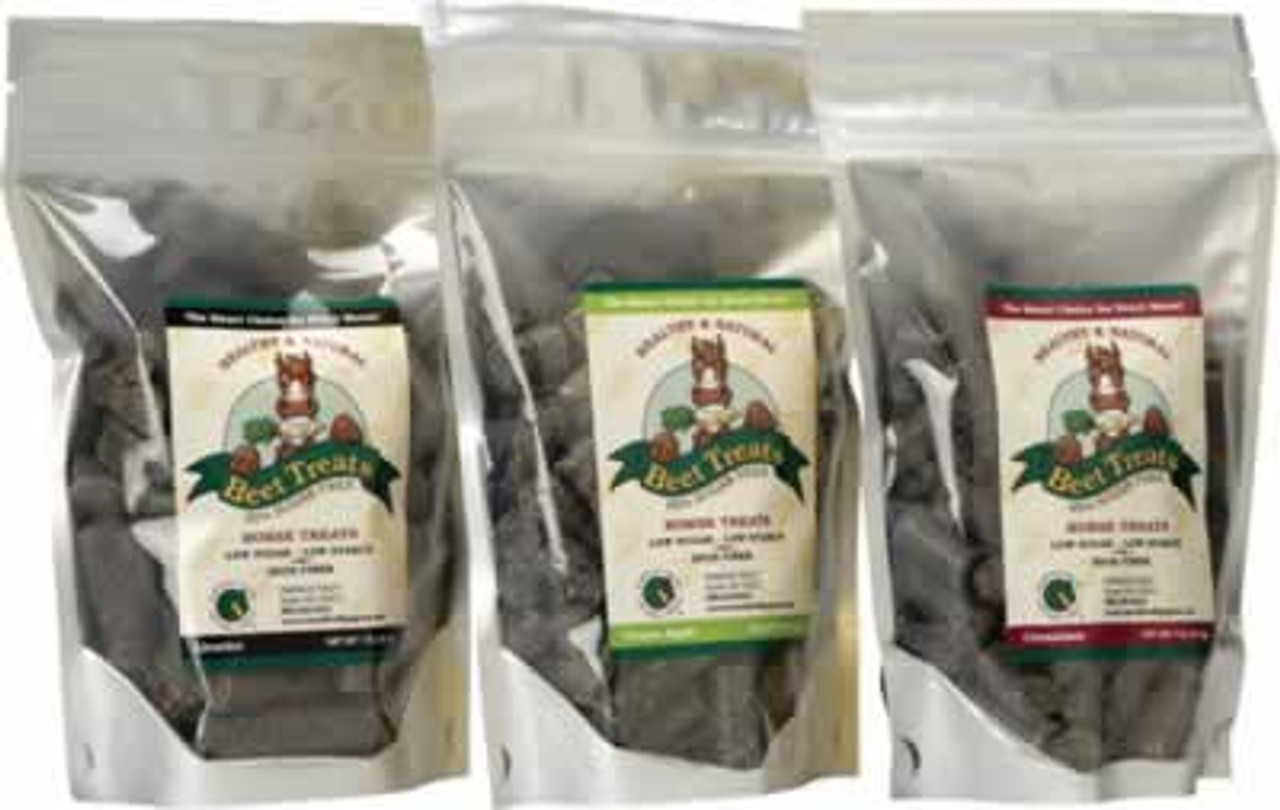 Emerald Valley Beet Treats Low Sugar Licorice Horse Treats 1 Lb Countrymax
