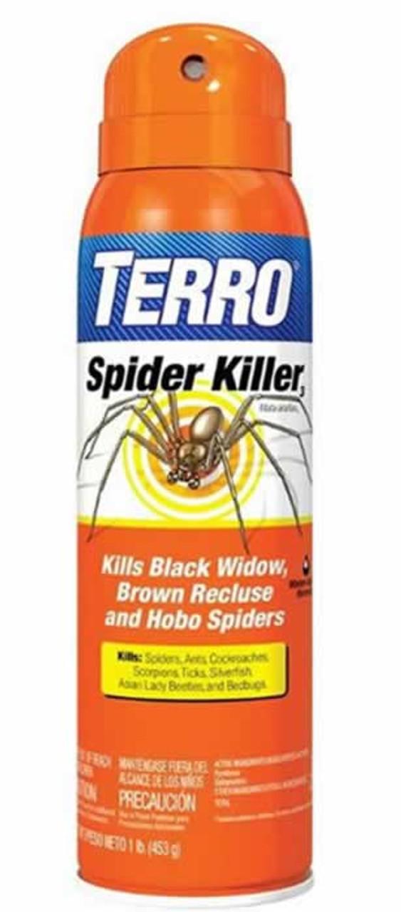 Terro Spider Killer Aerosol 16 Ounce Countrymax