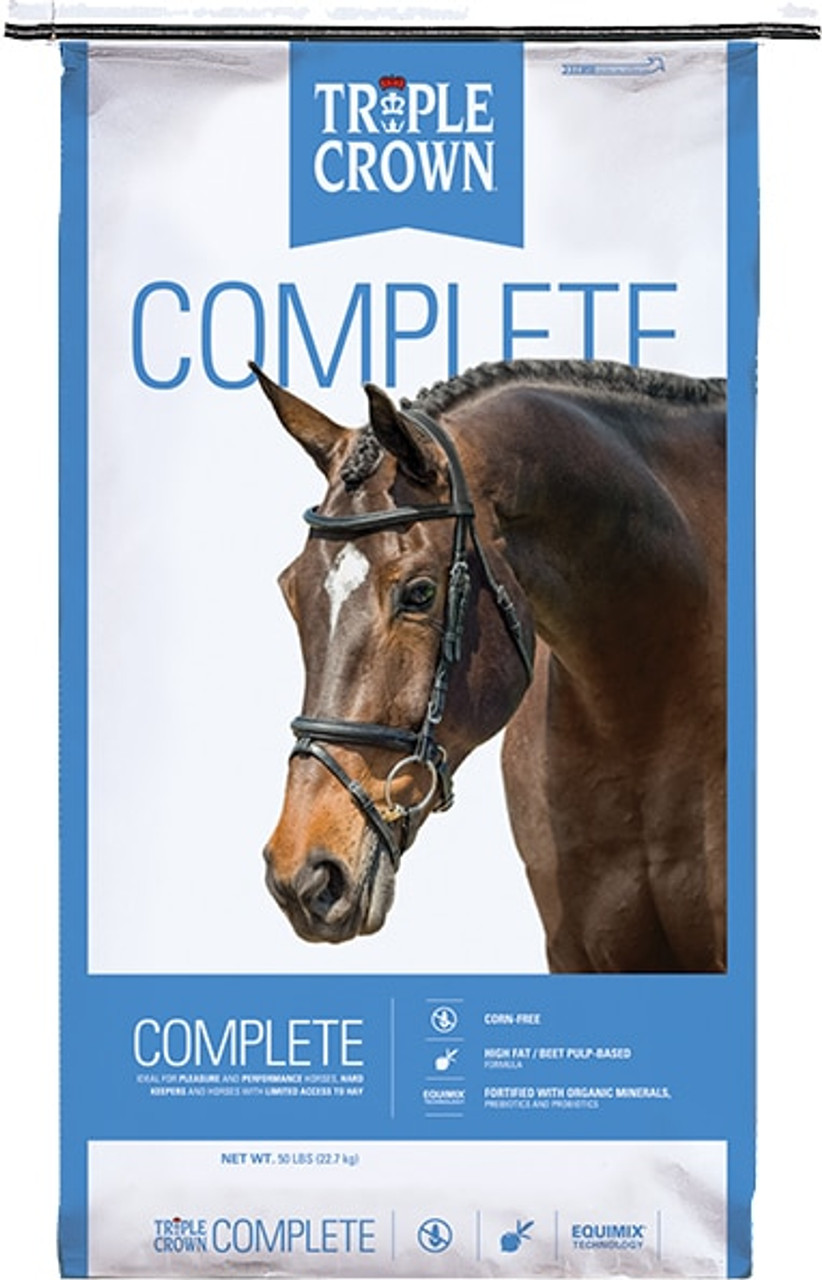 Triple Crown Complete Racing Formula Horse Feed, 8 Lb.