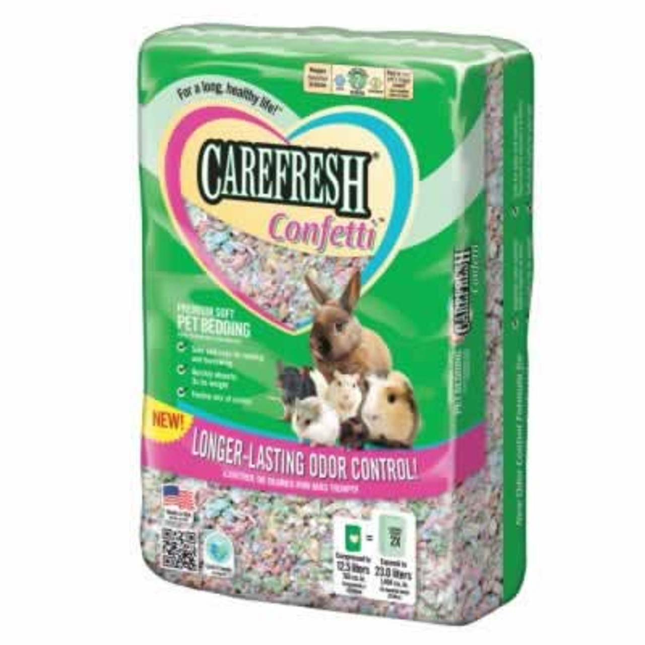 Carefresh Confetti Pet Bedding, 23