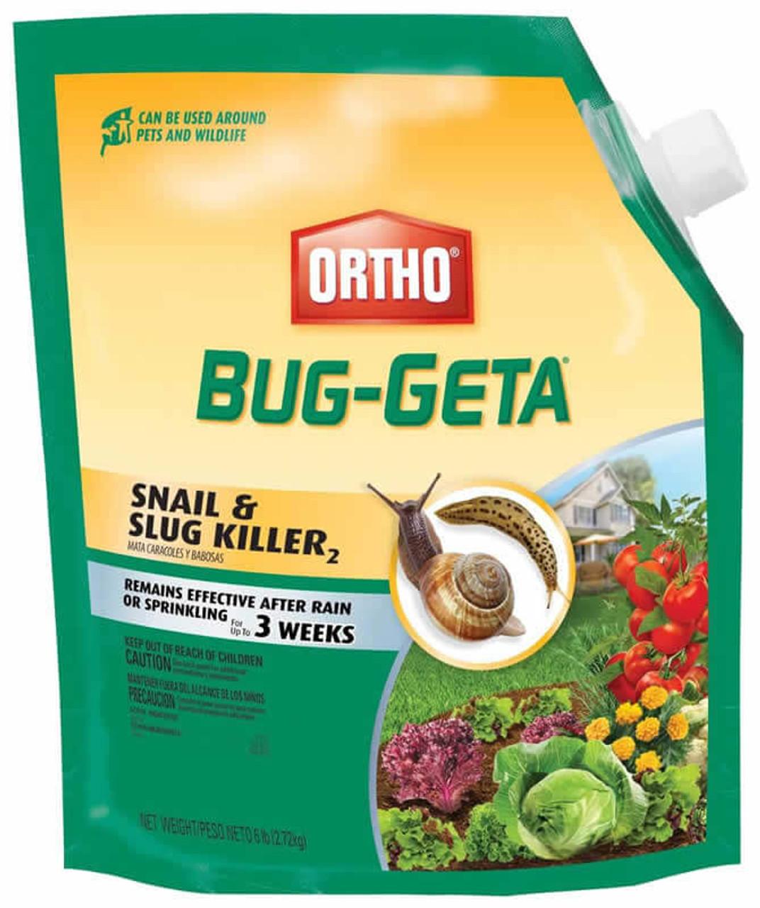 Ortho Bug-Getta Slug & Snail Killer 2 Pounds