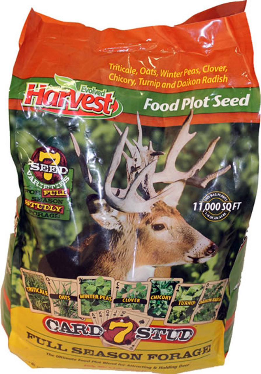 Evolved Harvest Throw /& Gro Xtreme Oats Deer Food Plot Seed