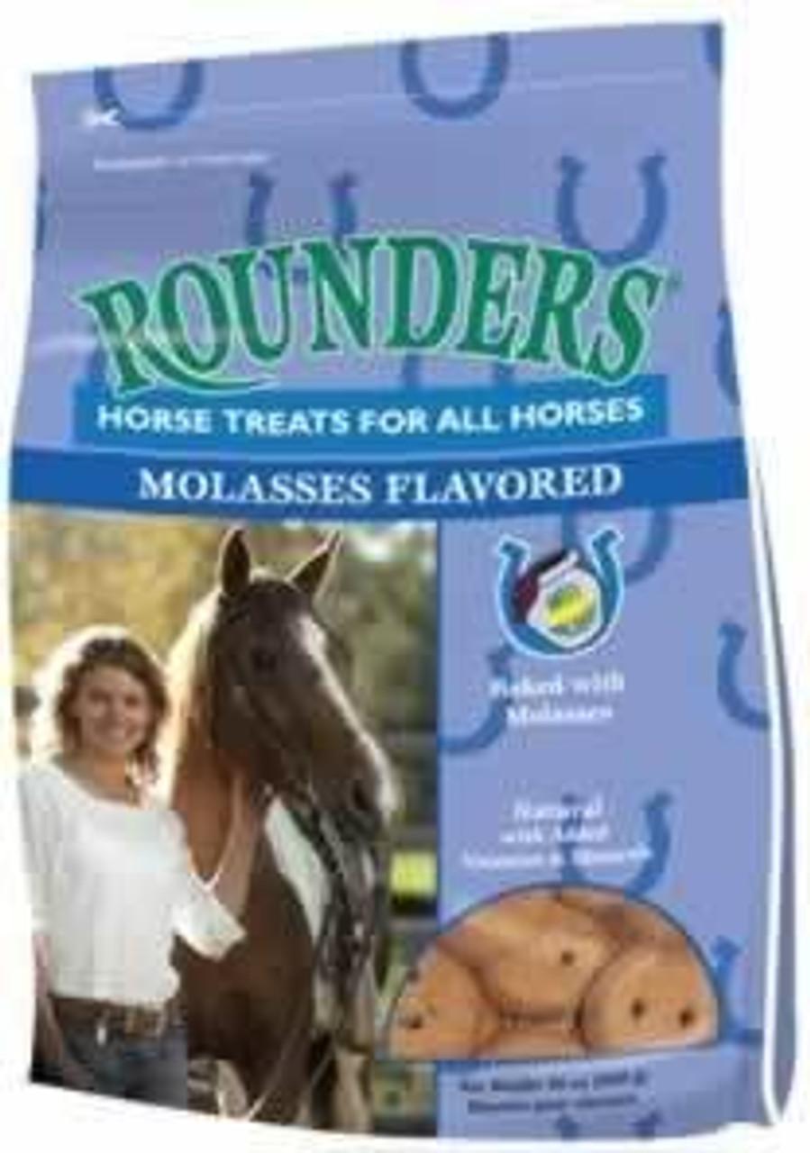 Blue Seal Molasses Rounders Horse Treats 30 Oz Countrymax