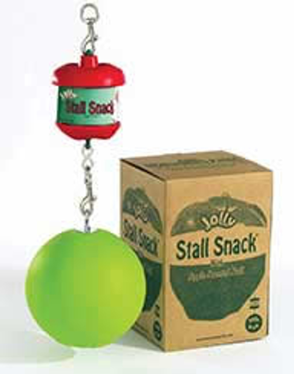 Horsemens Pride Stall Snack Holder with Apple-Scented Jolly Ball for Horses