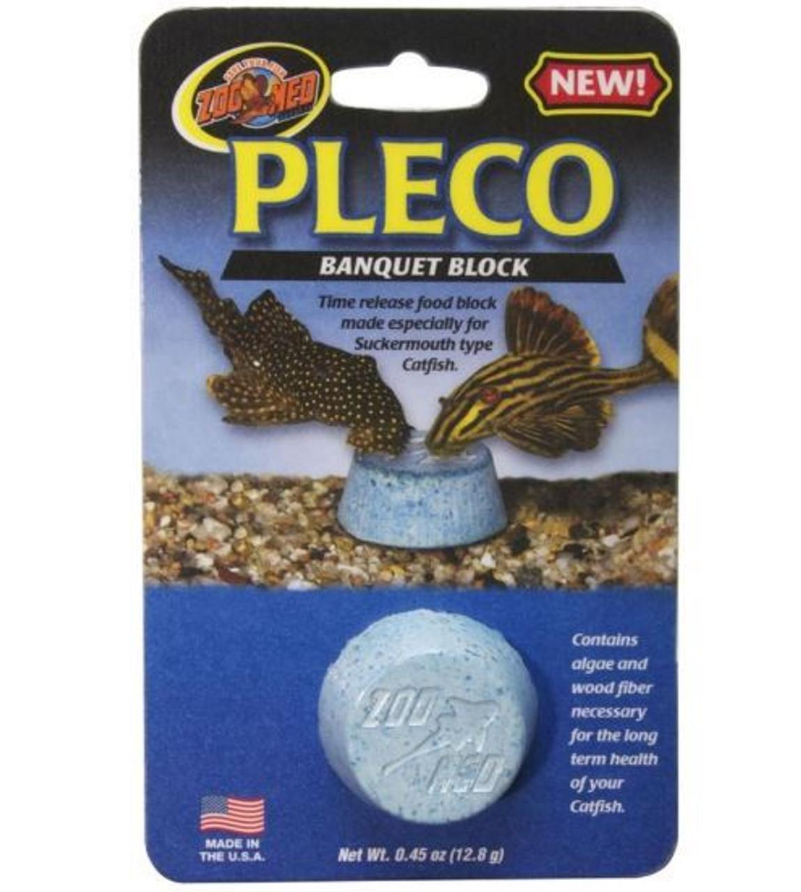 5 Pack Zoo Med Laboratories Pleco Banquet Blocks