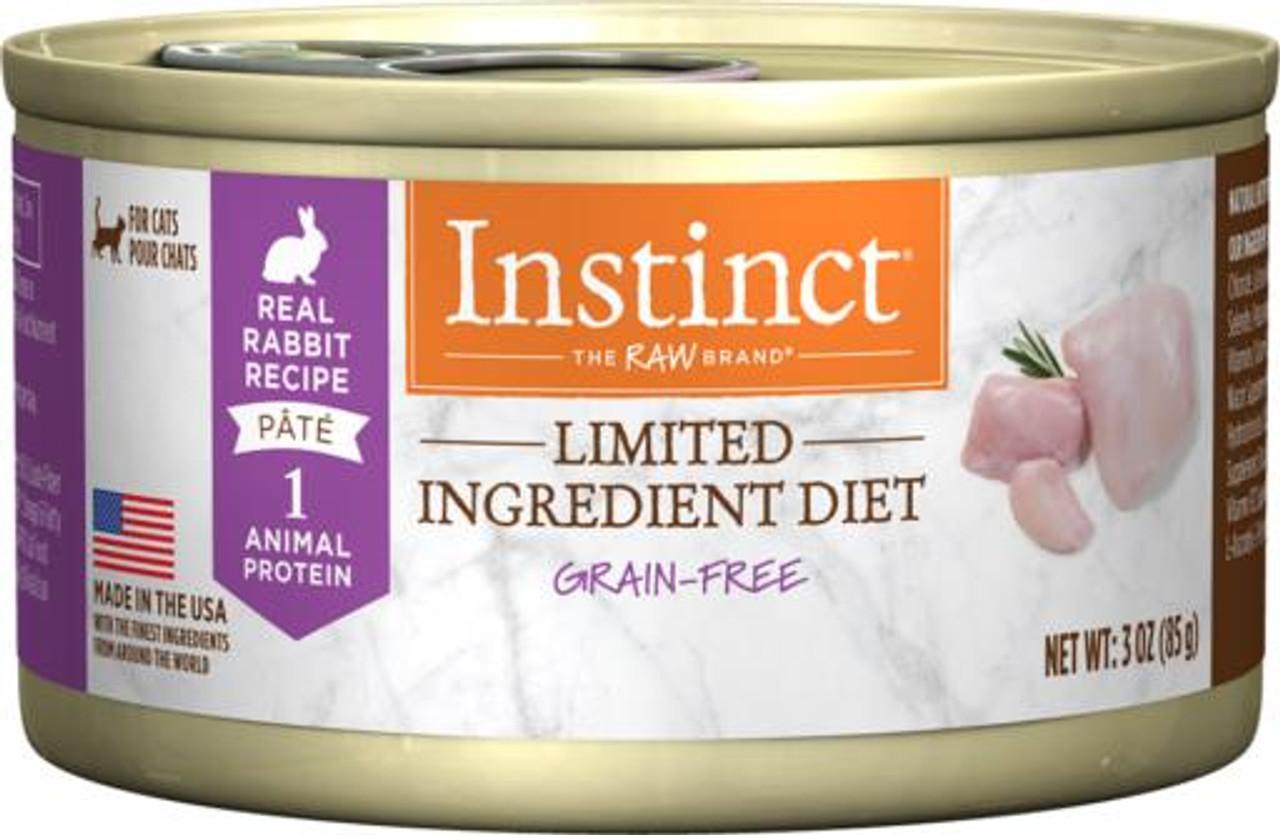limited ingredient diet cat food wet