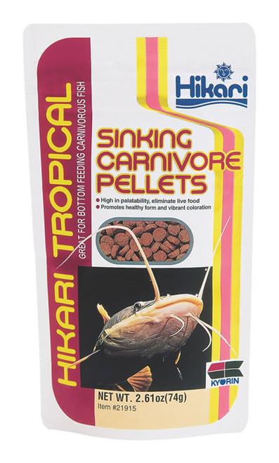 Hikari Sinking Carnivore Pellets, 74 Gram