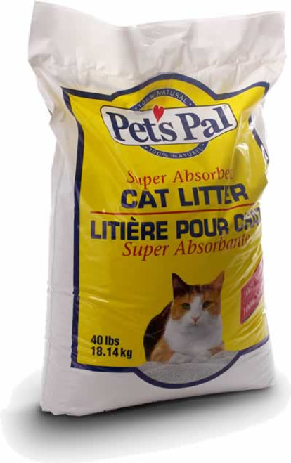 Pestell Pets Pal Unscented Cat Litter, 40 Lbs.