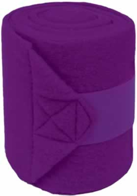Mustang Purple Polo Wraps, Set Of 4