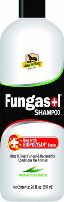 Absorbine Fungasol Shampoo for Horse Skin & Coat Health 20 Ounces