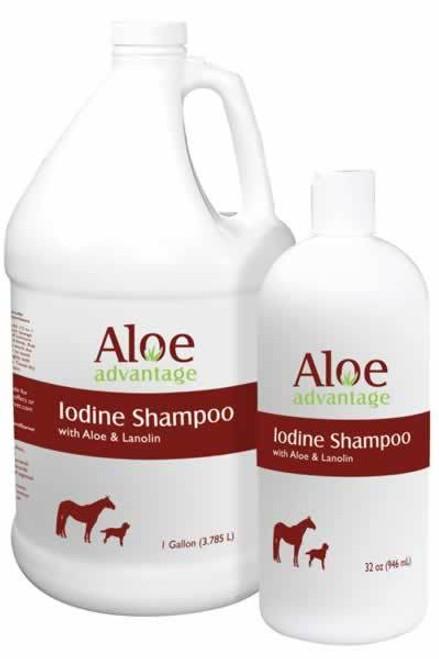 Durvet Aloe Advantage Iodine Shampoo