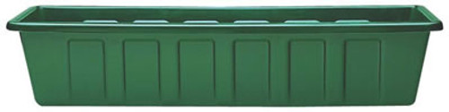 Polly Pro Planter And Liner, 18 Inch Green