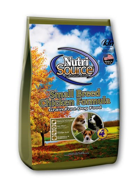 NutriSource Grain Free Small Breed Chicken Dog Food