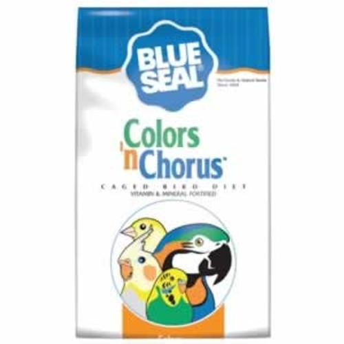 Blue Seal Colors n' Chorus Parrot Diet Bird Food, 4 Lbs.