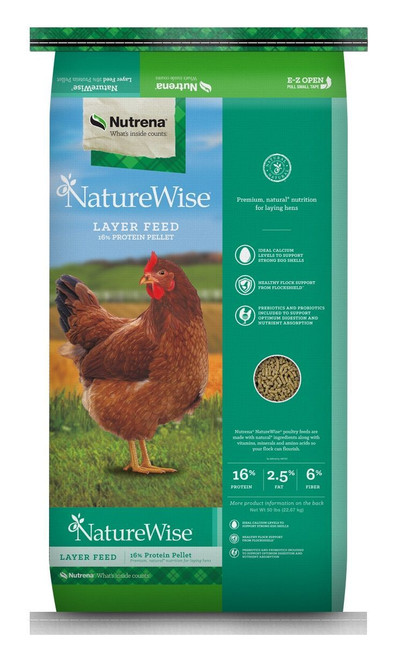 Nutrena NatureWise Egg Layer 16% Pelleted 50 Pounds