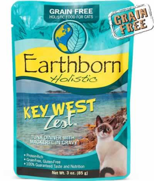 Earthborn Keywest Zest Cat Food Pouch 3 Ounces