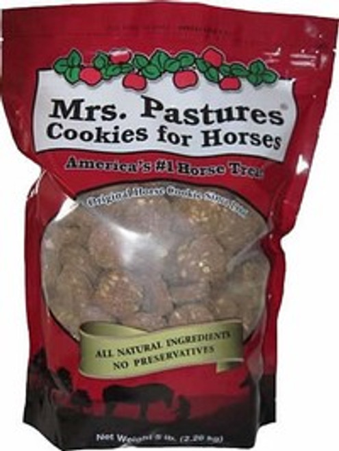 Mrs. Pastures Cookies Horse Treats, 5 Pound Bag