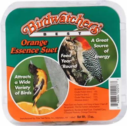 Pine Tree Farms Birdwatcher's Best Orange Essence Suet Cake