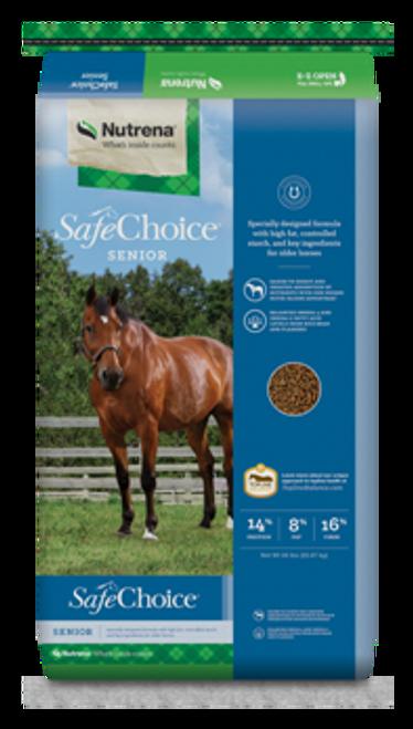 Nutrena SafeChoice Senior Horse Feed, 50 Lbs.