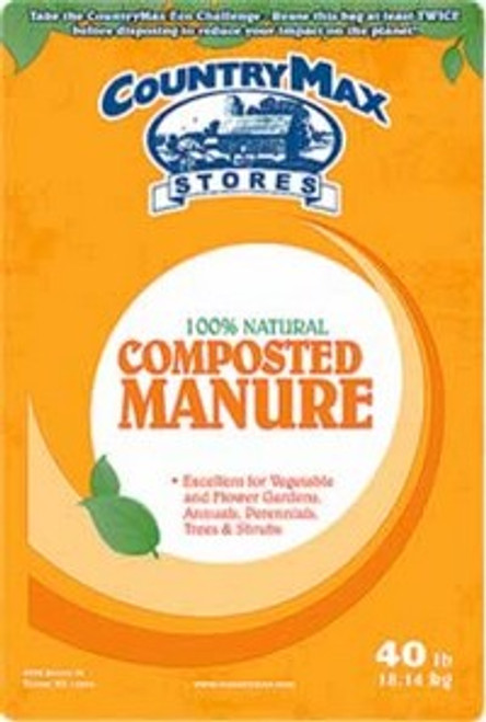 CountryMax Composted Manure 40 Pounds