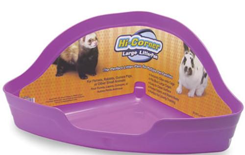 Hi Corner Litter Pan