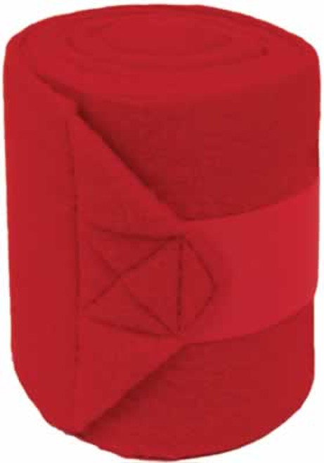 Mustang Red Polo Wraps, Set Of 4