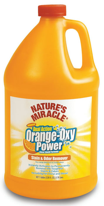 Natures Miracle Orange Oxy Stain & Odor Remover Gallon