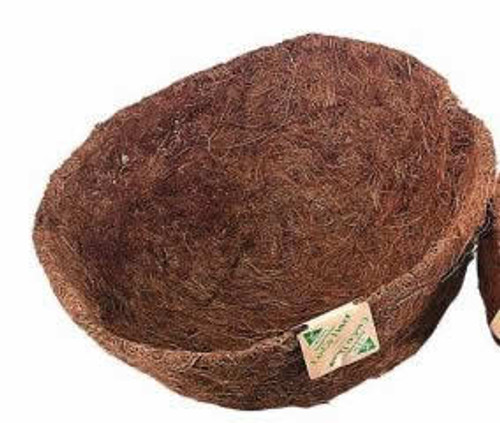 Traditional Coco Fiber Liner, 14 Inch
