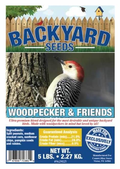 Backyard Seeds Woodpecker & Friends Bird Seed