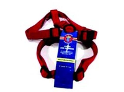 Hamilton Large Adjustable Nylon Comfort Harness, Red