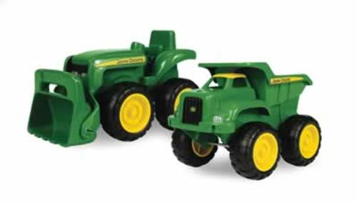 Ertl John Deere Sandbox Truck & Tractor Toys