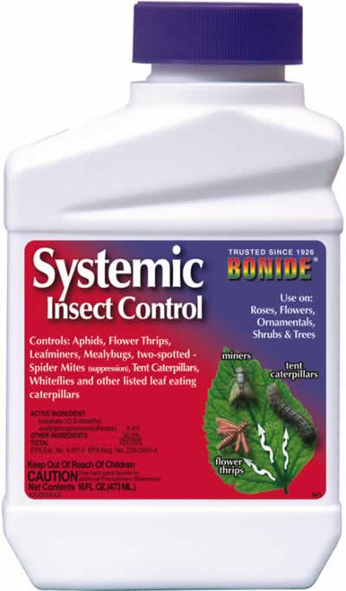 Bonide Systemic Insect Control Concentrate, Pint