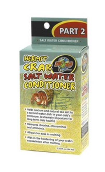 Zoo Med Hermit Crab Salt Water Conditioner