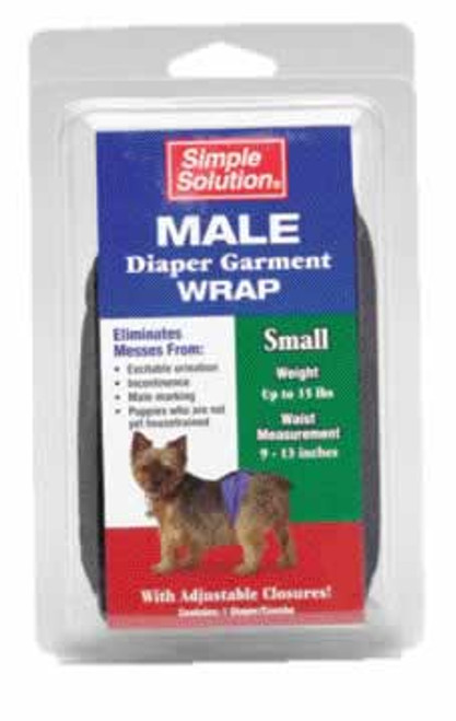 Pupsters Small Washable Male Wrap