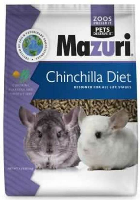 Mazuri Chinchilla Diet 2.5 Pounds