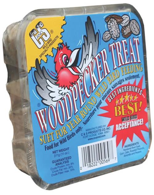 C&S Woodpecker Suet Treat