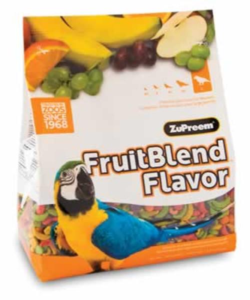 Zupreem FruitBlend Large Size Bird Food, 3.5 Pound