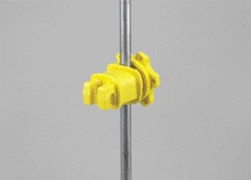 Dare Yellow Western Round Post Insulator, 25 Pack