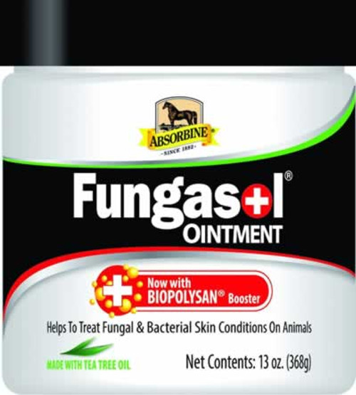 Absorbine Fungasol Ointment for Horse Skin & Coat Health 13 Ounces