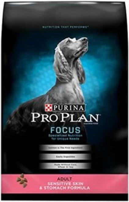 Pro Plan Focus Sensitive Skin & Stomach Adult Dog Food, 30 Lb.