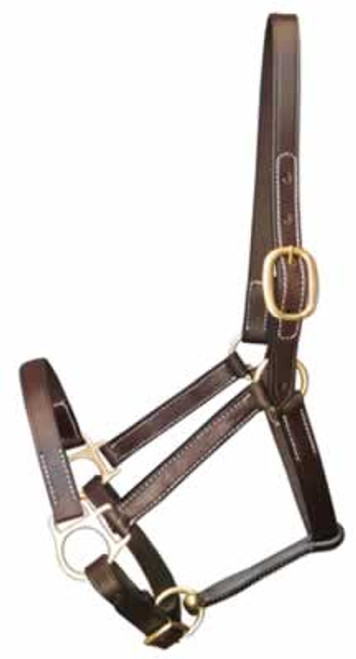 Gatsby Leather Halter, Yearling