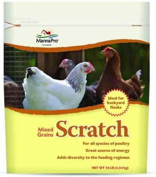 Manna Pro Scratch Grains 10 Pounds