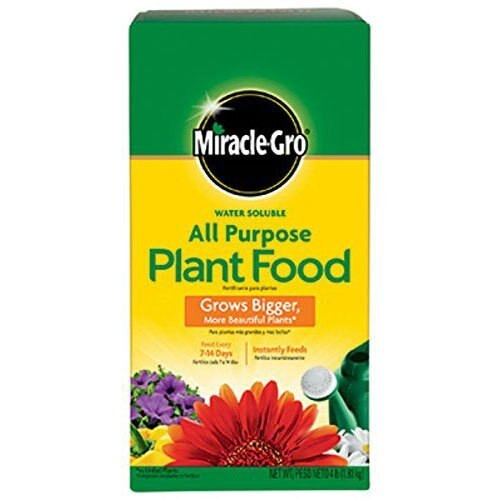 MiracleGro Water Soluble All Purpose Plant Food, 4 Lb.