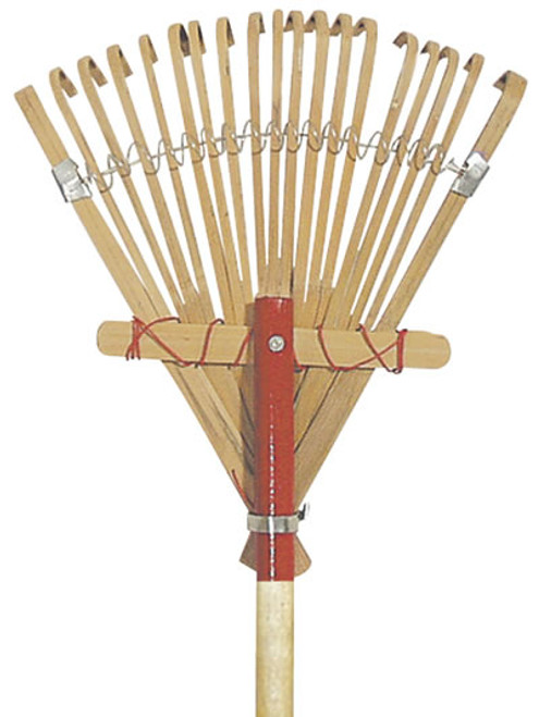 Bond Manufacturing Deluxe Bamboo Rake 10 Inches
