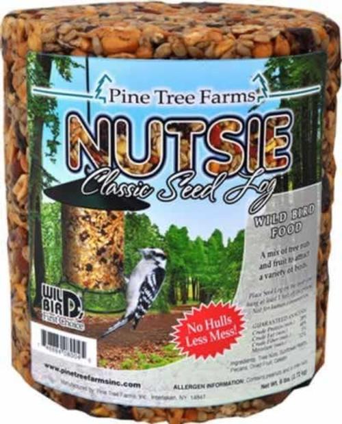 Pine Tree Farms Nutsie Classic Seed Log 80 Ounces