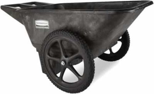 Rubbermaid Commercial Big Wheel Lawn Cart 300 Pound Capacity