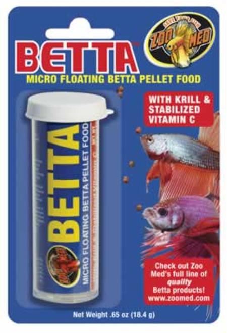 Zoo Med Betta Micro Floating Pellets, .65 Ounce