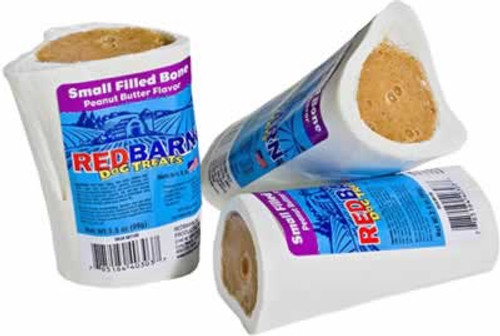 Redbarn Filled Peanut Butter Bone 2.5 inch