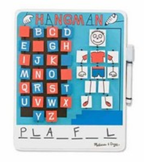 Melissa & Doug Flip to Win Hangman Travel Game for Kids