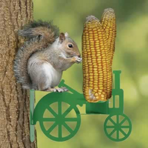 Audubon Corn on the Cob Tractor Squirrel Feeder
